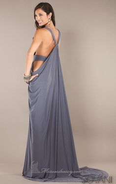 Jovani 72644 Dress - MissesDressy.com Interesting... Cool back but too revealing?
