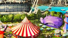 The London Wonderground is on now until 28th September. It has many spectacular shows on all summer, so check out what's on! https://www.londonwonderground.co.uk/