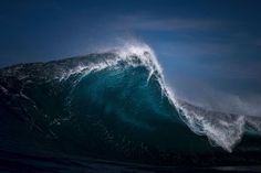 Seascapes: Ocean Waves Photographed to Look Like Mountain Ranges 19