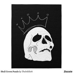 #Skull #Crown #Puzzle #puzzles #games #gamenight #activities #halloween