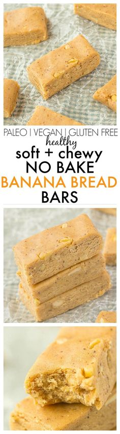 No Bake Banana Bread