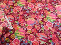 ▲和柄 - 商品詳細 型押しちりめん風プリント(211) 110cm巾 綿100%/生地の専門店 布もよう