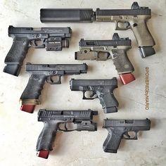 Guns 4 you — Glock Weapons Guns, Guns And Ammo, Zombie Weapons, Glock Mods, Fire Powers, Military Guns, Cool Guns, Tactical Gear, Tactical Survival