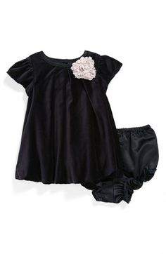 Pippa & Julie Velvet Bubble Dress (Baby Girls) available at #Nordstrom