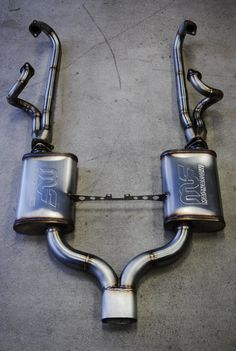 550 Spyder 304 Stainless Steel Exhaust & Headers for VW Type 1 Engine