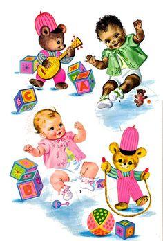 Baby paper dolls 159