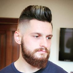 Fresh Men's Haircuts - High Skin Fade with Pompadour