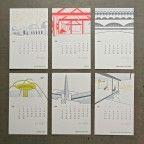 Pivot 2012 Calendar. Tribute to California Architecture.