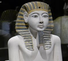 https://flic.kr/p/cgEqrY | Historisches Museum der Pfalz Speyer | Leihgabe aus dem Museum Turin Pharao Amenhotep I., 18. Dyn. Kalkstein, bemalt  Pharao Amenhotep I., 18. Dyn. painted limestone