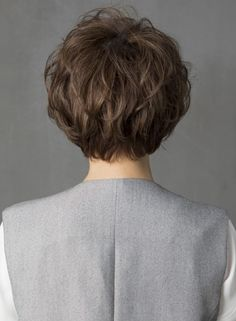 Elegant Short Hair, Messy Short Hair, Asian Short Hair, Short Hair Cuts, Shot Hair Styles, Curly Hair Styles, Natural Hair Care, Natural Hair Styles, Bob Hairstyles