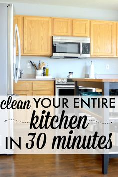 How to Clean Your Entire Kitchen in 30 Minutes — Sara Dear
