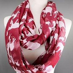 Scarves by Jusbella's Elephant Infinity Scarf by Justbella's on Opensky