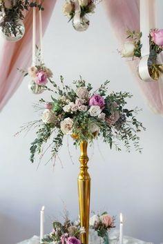 tall centerpiece | Cassandra Castaneda #wedding