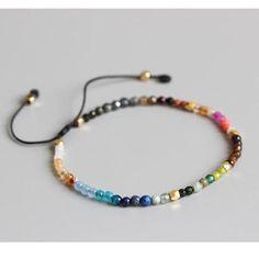 OAIITE 12 Constellation Lucky Stone Simple Bracelet Beads Adjustable Bracelet Hollywood Beaded Bohemia Bracelets Unisex Metal Color A Simple Bracelets, Handmade Bracelets, Handmade Jewelry, Gold Bracelets, Gold Earrings, Star Earrings, Diy Beaded Bracelets, Indian Earrings, Ankle Bracelets