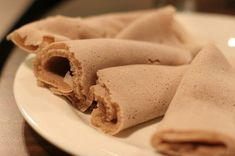 [Cheater] Injera « Chef Marcus Samuelsson (uses whole wheat for teff - if you can't find teff - and baking soda and yogurt in place of sourdough)