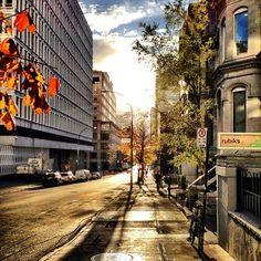 Rue Mackay #Montreal