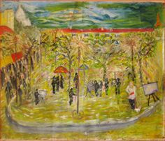 La place des artistes peintres de Montmartre-Paris