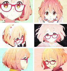 Mirai Kuriyama (Kyokai no Kanata) She is my favorite anime character. I love her so much!