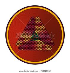 Background with rhombuses in yellow tones with place for inscription
