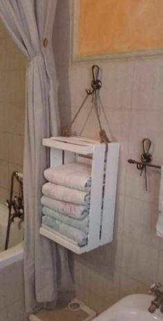 Home Decor Bedroom, Diy Home Decor Easy, Creative Decor, Bathroom Towels, Diy Furniture, Diy Bathroom Decor, Home Decor, Bathroom Decor, Diy Home Decor On A Budget