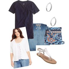 causal by redneckgrl on Polyvore featuring polyvore fashion style INC International Concepts J.Crew 17 Sundays Vera Bradley GUESS