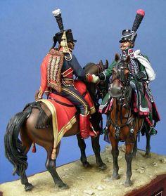 Ussaro e cacciatore francesi