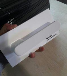 Manilla olivari RADIAL blanco mate 9003. Redolfo Dordoni. Design, Black And White, Trends