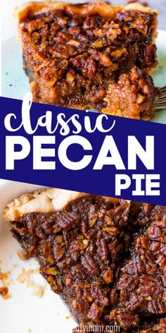 The Highest Three Chicory Espresso Manufacturers - Include A Novel Taste On Your Cup Of Joe Classic Southern Pecan Pie Summer Dessert Recipes, Healthy Dessert Recipes, Easy Desserts, Delicious Desserts, Sweets Recipes, Yummy Treats, Sweet Treats, Flan, Pecan Pie Ingredients