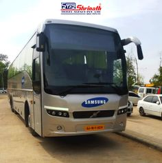 You could soon travel in more such luxurious #Shrinath #Volvo buses. We are adding more Volvo buses to our splendid fleet.  #ShrinathGroupOfCompanies #ShrinathTravels