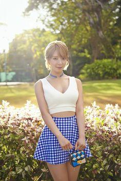 AOA 4th Mini Album 'Good Luck' Weekend Ver. Concept Photo 1 :: #초아 #Choa