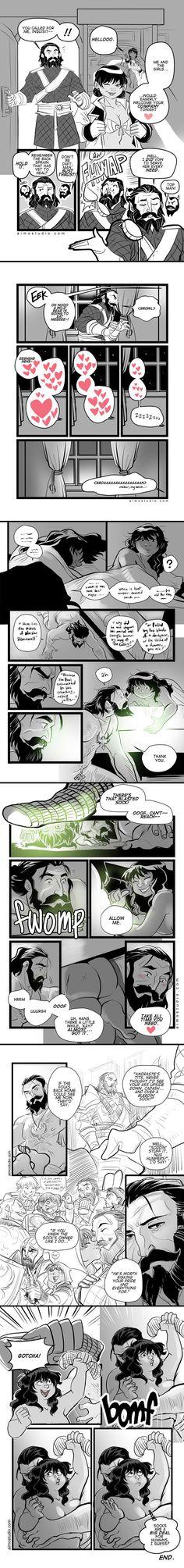 DAI - The Sock Saga by aimo on DeviantArt