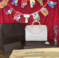 Brand new LV speedy being raffled on Sunday, March 8th at 5pm! So excited!!!!