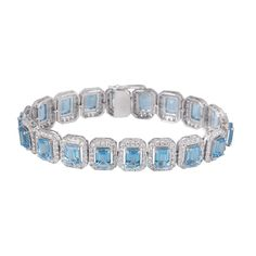 Jewellery / Bangles & bracelets White Gold Topaz and Diamond Bracelet An 18k white gold diamond and topaz bracelet. The… / MAD on Collections - Browse and find over 10,000 categories of collectables from around the world - antiques, stamps, coins, memorabilia, art, bottles, jewellery, furniture, medals, toys and more at madoncollections.com. Free to view - Free to Register - Visit today. #Jewelry #Bangles/Bracelets #MADonCollections #MADonC White Gold Diamonds, Bangle Bracelets, Topaz, Diamond Cuts, Bottles, Mad, Stamps, Coins, Collections