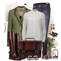 Love My Leather Boots by leegal57 on Polyvore featuring BOSS Orange, Etro, True Religion, Burberry, Beara Beara, Barbour, Alexis Bittar, Gucci and Jayson Home
