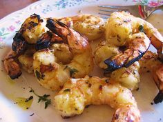 BBQ Shrimp. YuM!