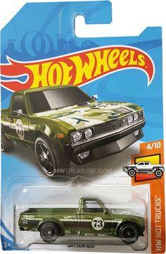 2018 HOT WHEELS MYSTERY MODELS CAR 1971 DATSUN BLUEBIRD 510 WAGON VHTF