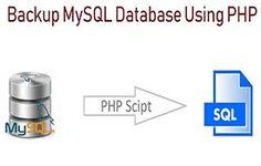 How to Backup / Export MySQL Database using PHP Mysql Php, Programming, Tutorials, Computer Programming, Coding, Teaching