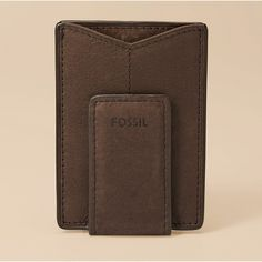 Fossil Front Pocket Wallet for guys. Best Front Pocket Wallet, Fossil Watches, Minimalist Wallet, Best Christmas Gifts, Latest Fashion Trends, Jewelry Accessories, Men's Wallets, My Style, Bags