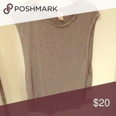 Grey tank top Soft material, brand new Free People Tops Tank Tops