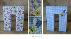 Decorative butterfly theme (Greek letter Pi)