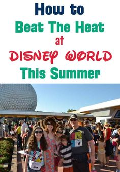 Family Disney World vacation planning tips -- How do you beat the heat at Disney? Is June too hot for Disney World? What should I wear to Disney World in July? Find out how to stay cool and beat the heat this summer. Includes the best cooling towel for D Disney World Tipps, Disney World Secrets, Disney World Parks, Disney World Tips And Tricks, Disney Tips, Disney Worlds, Disney Magic, Disney Ideas, Disney Stuff