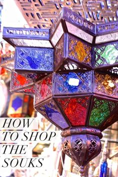 Guide to Shopping the Souks in Marrakesh for Travel Souvenirs.