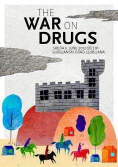 Selection of gig posters - Zoran Pungerčar