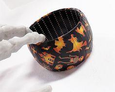 Halloween Bracelet  Halloween Jewelry  All by Funkychunkies