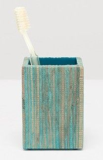 pigeon u0026 poodle bali toothbrush holder in in aqua