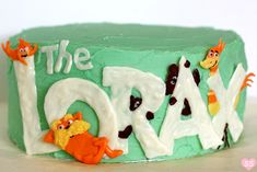 The Lorax Cake Brings This Dr. Seuss Character to Life - Foodista.com