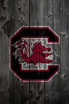 South Carolina Gamecocks Wood iPhone 4 Background   Flickr - Photo Sharing!