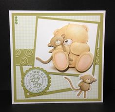 Card I made using a forever friends kit 2013 Tatty Teddy, Teddy Bear, Forever Friends Cards, Card Making Templates, Craft Cards, Some Ideas, Baby Cards, Making Ideas, Card Ideas
