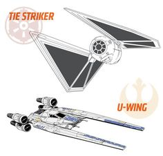 Striker and U-Wing Rogue One