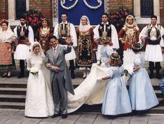 Paul et Marie-Chantal de Grèce 1 Juillet 1995